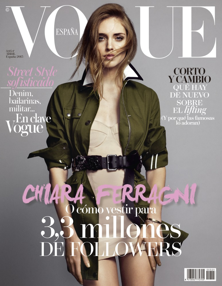 Photo Credits: VOGUE SPAIN April 2015