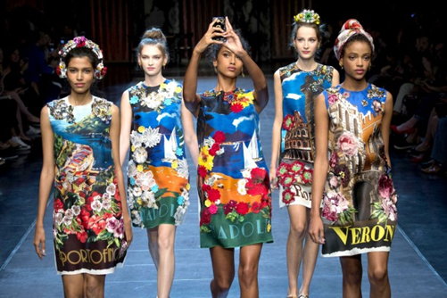Dolce and Gabbana Spring/Summer 15show