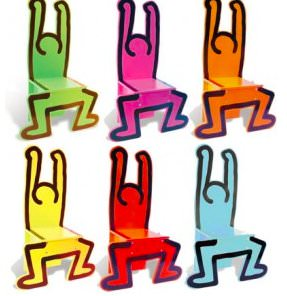 Chaises Keith Haring_mini