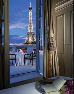 Vue Tour Eiffel Shangri-La Paris