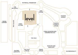 LevelShoeDistrict map